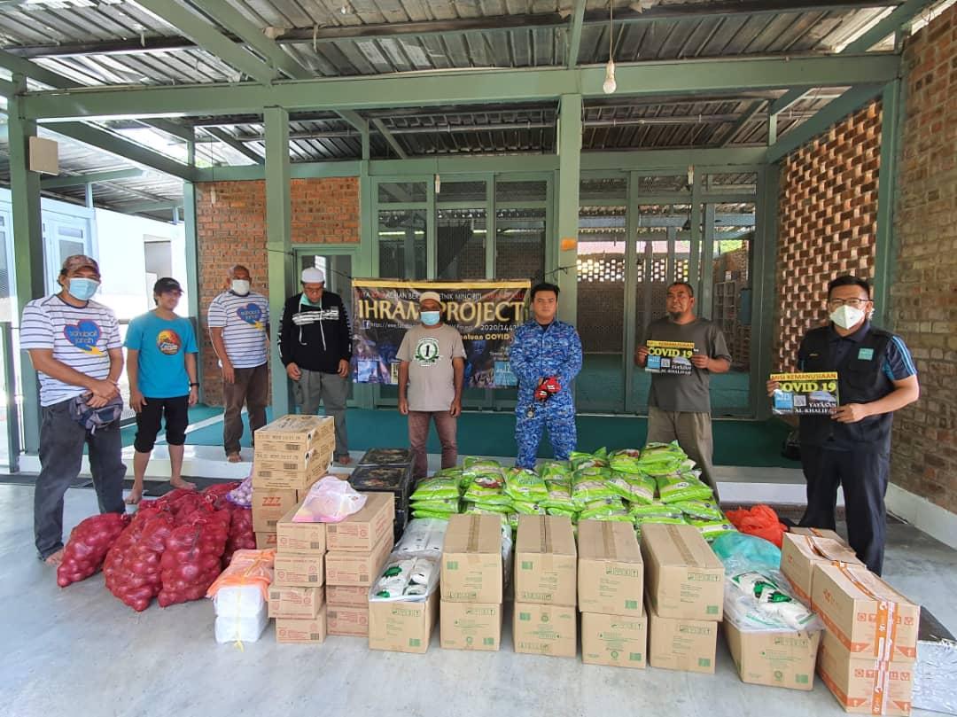 Humanitarian aid during musim Covid 19