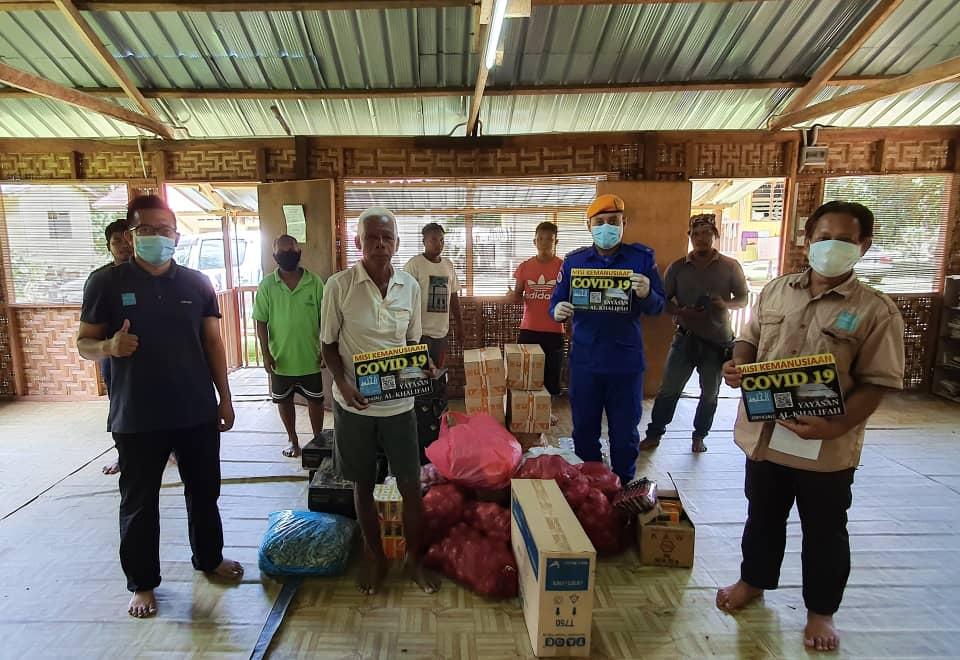 Misi bantuan Ihsan Ramadhan & Covid19