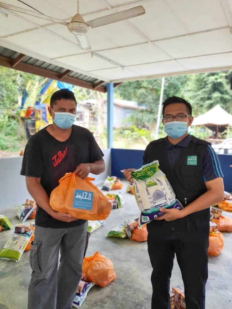 Misi bantuan 'Ihsan Ramadhan Covid 19' dengan kerjasama Pertubuhan Kebajikan Insan Selangor