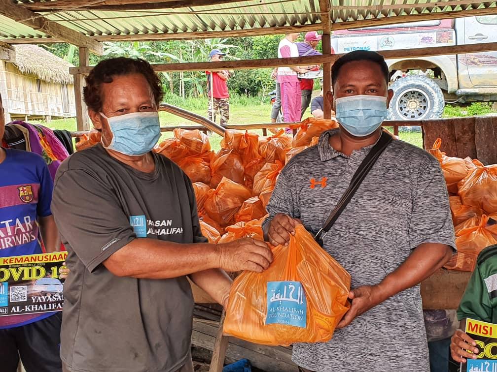 Misi Bantuan Kemanusiaan 'Ihsan Ramadhan Covid 19' Yayasan Al-Khalifah di pedalaman Kelantan
