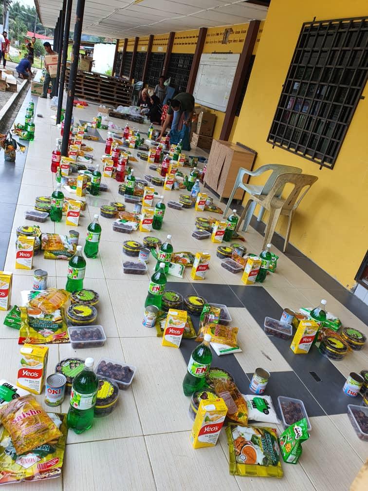 Misi bantuan Orang Asli di negeri Johor