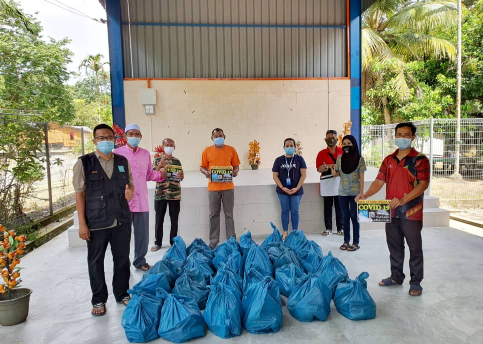 Misi Bantuan 'Ihsan Ramadhan Covid 19' di 3 buah Kg Orang Asli di daerah Kota Tinggi, Johor