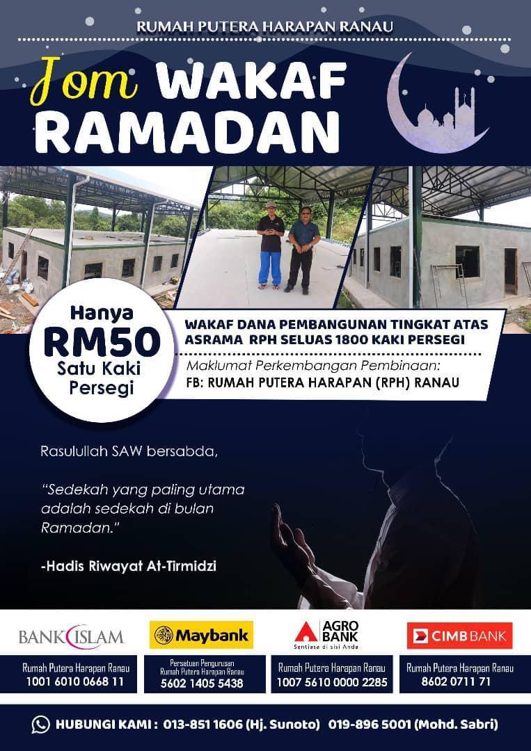 Jom Wakaf Ramadhan